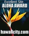 ALOHA AWARD - October 20, 2000