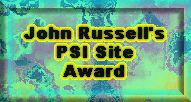 John Russell's Psi Site Award - September 1, 2000