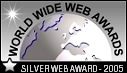 World Wide Web Awards, Silver Award - July 7, 2005